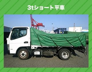 3tショート平車